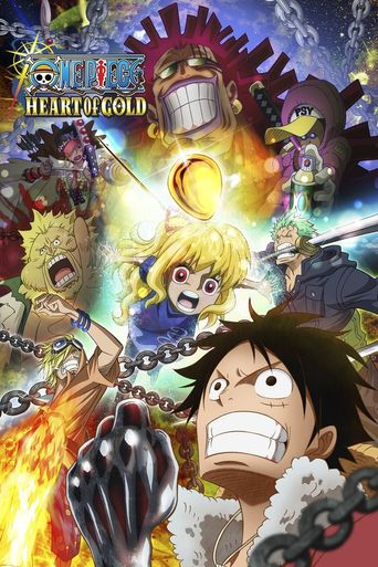 One Piece: Heart of Gold Poster