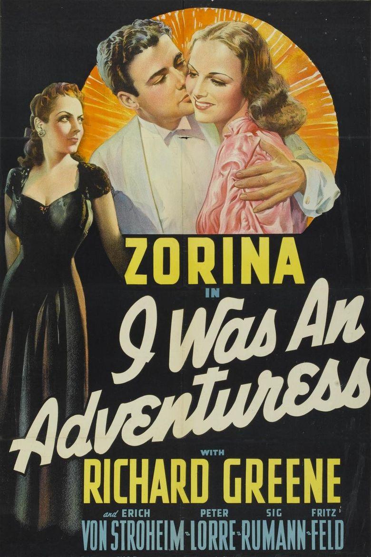 I Was an Adventuress Poster