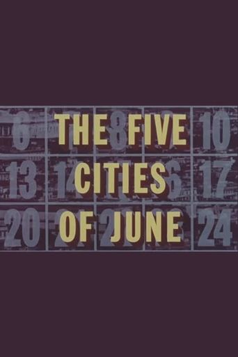 The Five Cities of June Poster