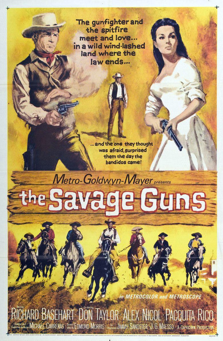 The Savage Guns Poster