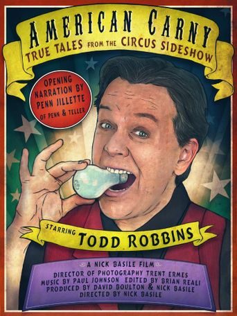 American Carny: True Tales from the Circus Sideshow Poster