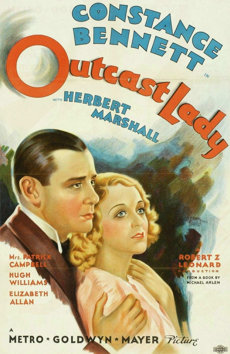 Outcast Lady Poster