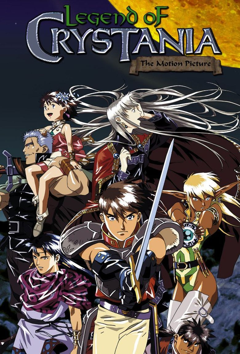 Legend of Crystania: The Motion Picture Poster