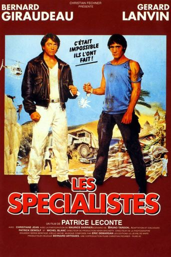 The Specialists Poster