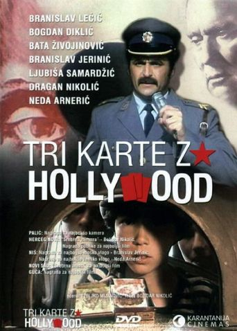 Three Tickets to Hollywood Poster