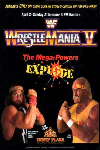WWE WrestleMania V Poster