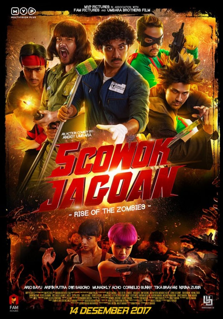 5 Cowok Jagoan Poster
