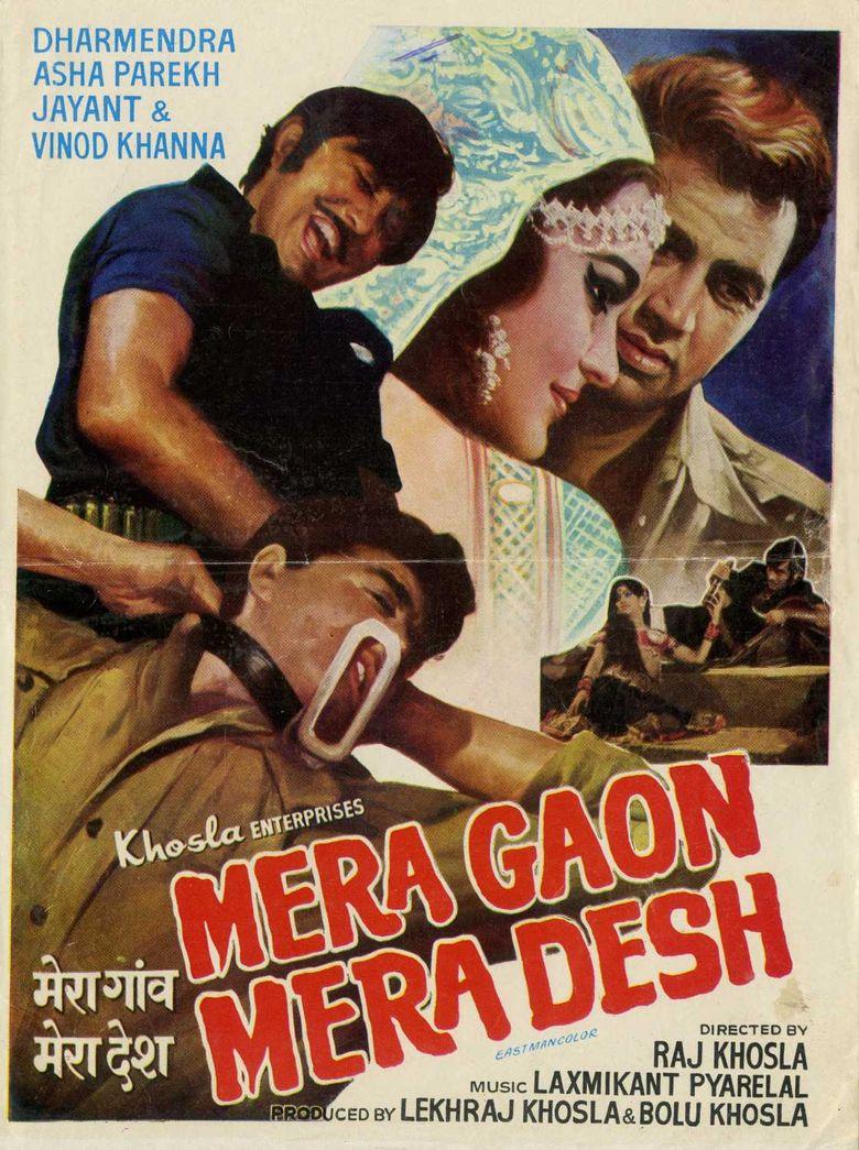 Mera Gaon Mera Desh Poster