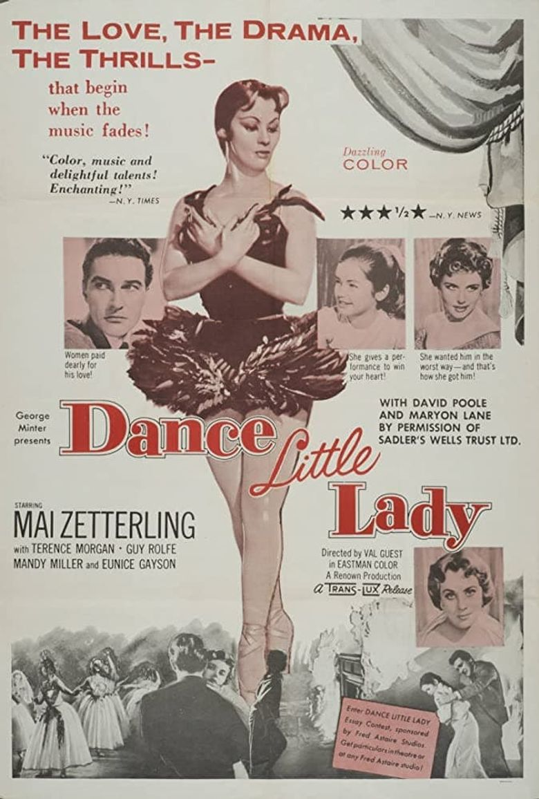 Dance Little Lady Poster