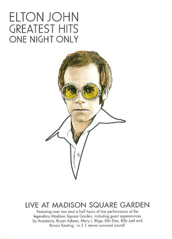Elton John: One Night Only - The Greatest Hits Poster