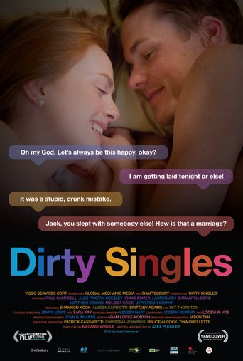 Dirty Singles Poster