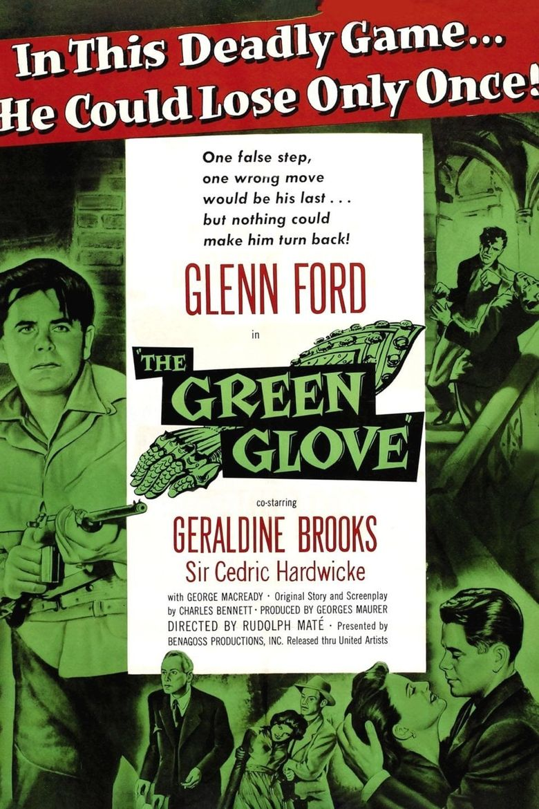 The Green Glove Poster