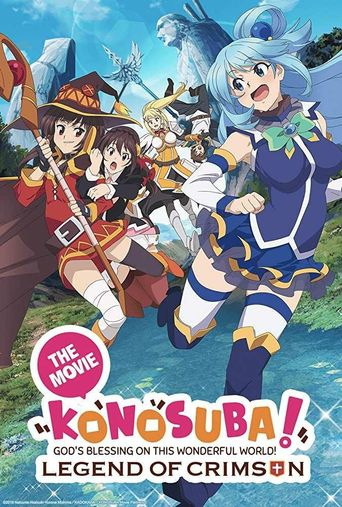 KonoSuba: God's Blessing on this Wonderful World! Legend of Crimson Poster