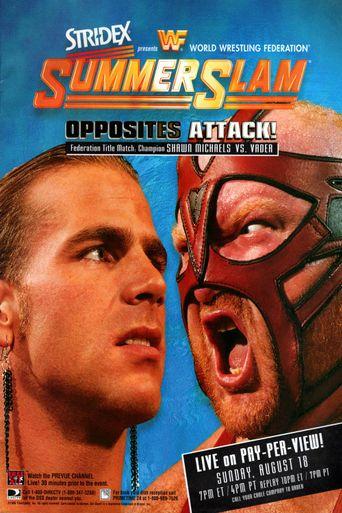 WWE SummerSlam 1996 Poster