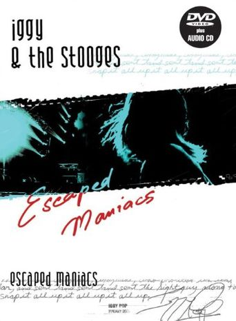 Iggy and the Stooges: Escaped Maniacs Poster