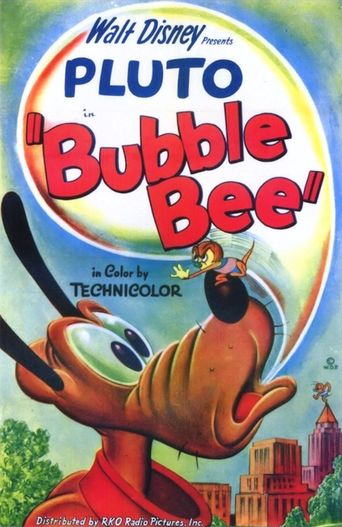 Bubble Bee Poster