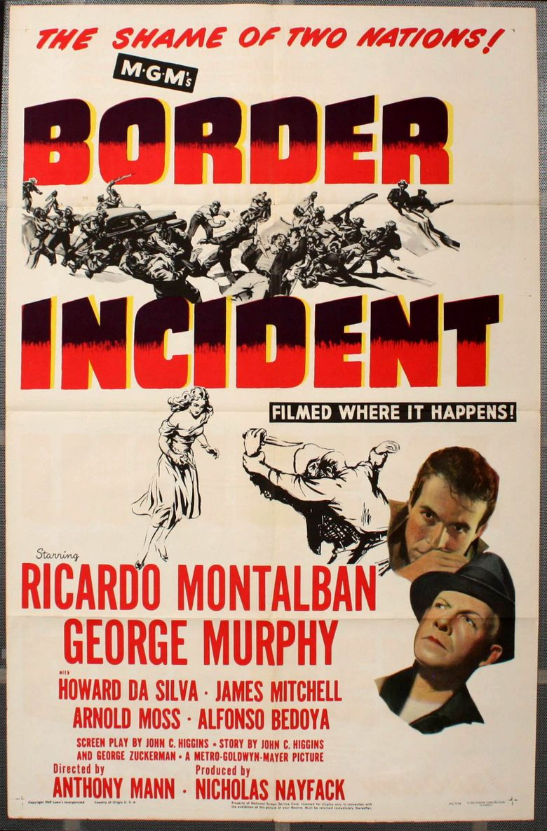 Border Incident Poster