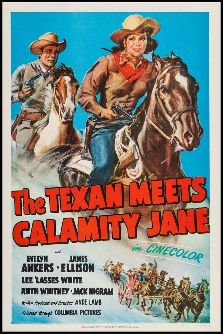 The Texan Meets Calamity Jane Poster