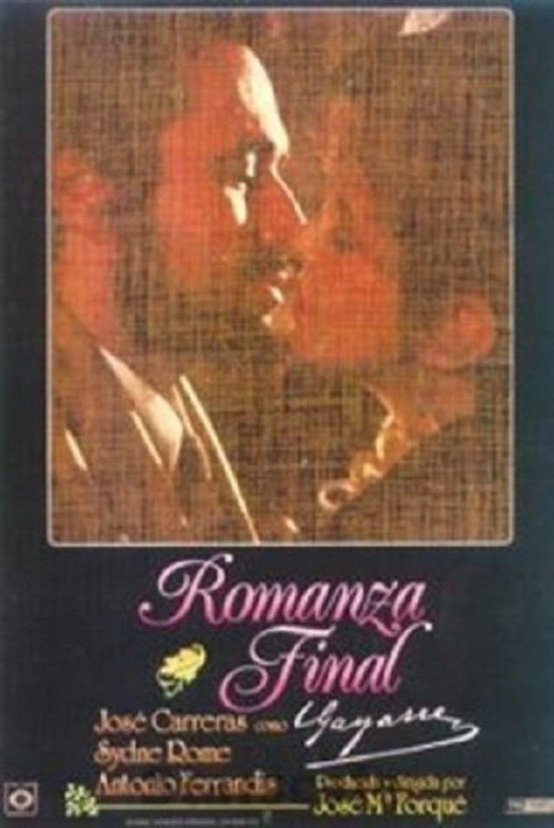 Romanza final (Gayarre) Poster