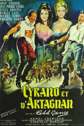 Cyrano and d'Artagnan Poster