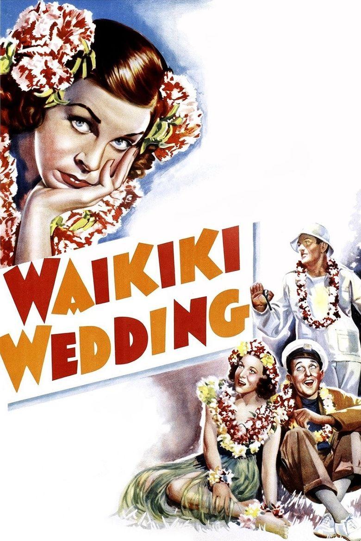 Waikiki Wedding Poster