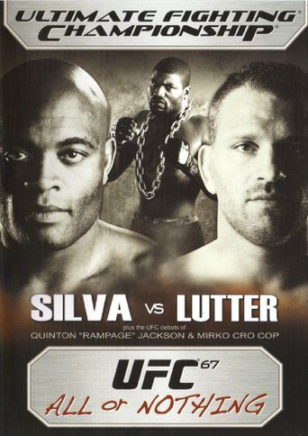UFC 67: All or Nothing Poster