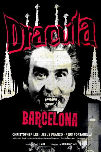 Drácula Barcelona Poster