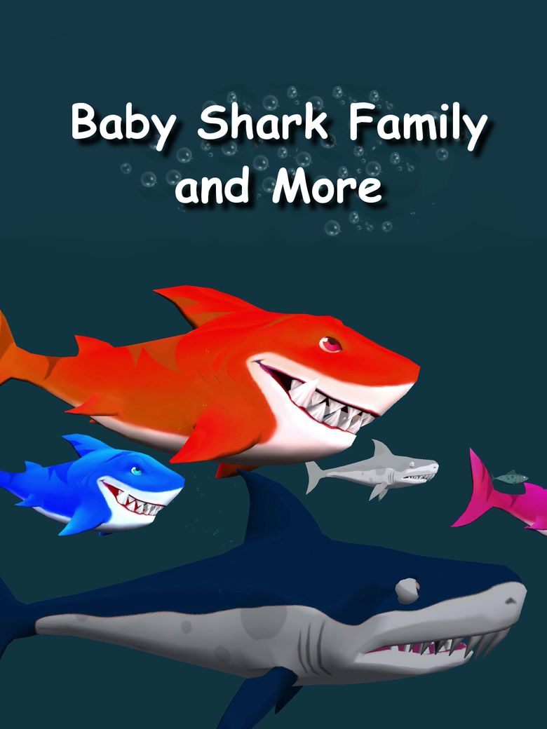 Baby Shark Family and More Poster