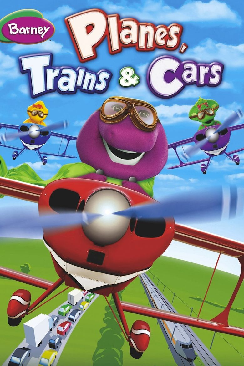 Barney: Planes, Trains & Cars Poster