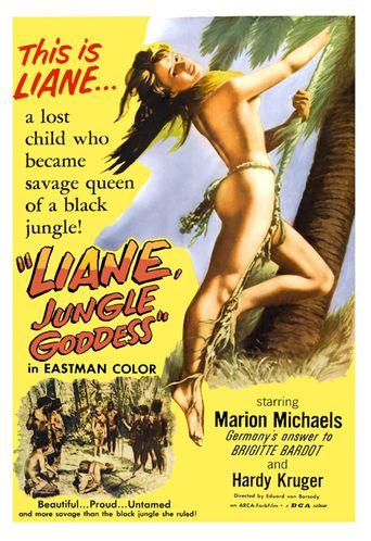 Liane, Jungle Goddess Poster