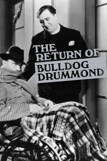 The Return of Bulldog Drummond Poster