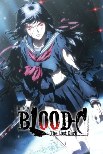 Blood-C The Last Dark Poster