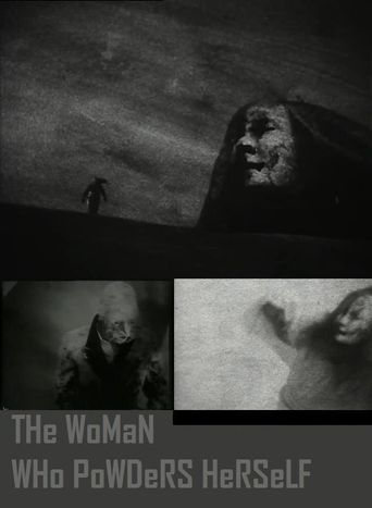 The Woman Who Powders Herself Poster