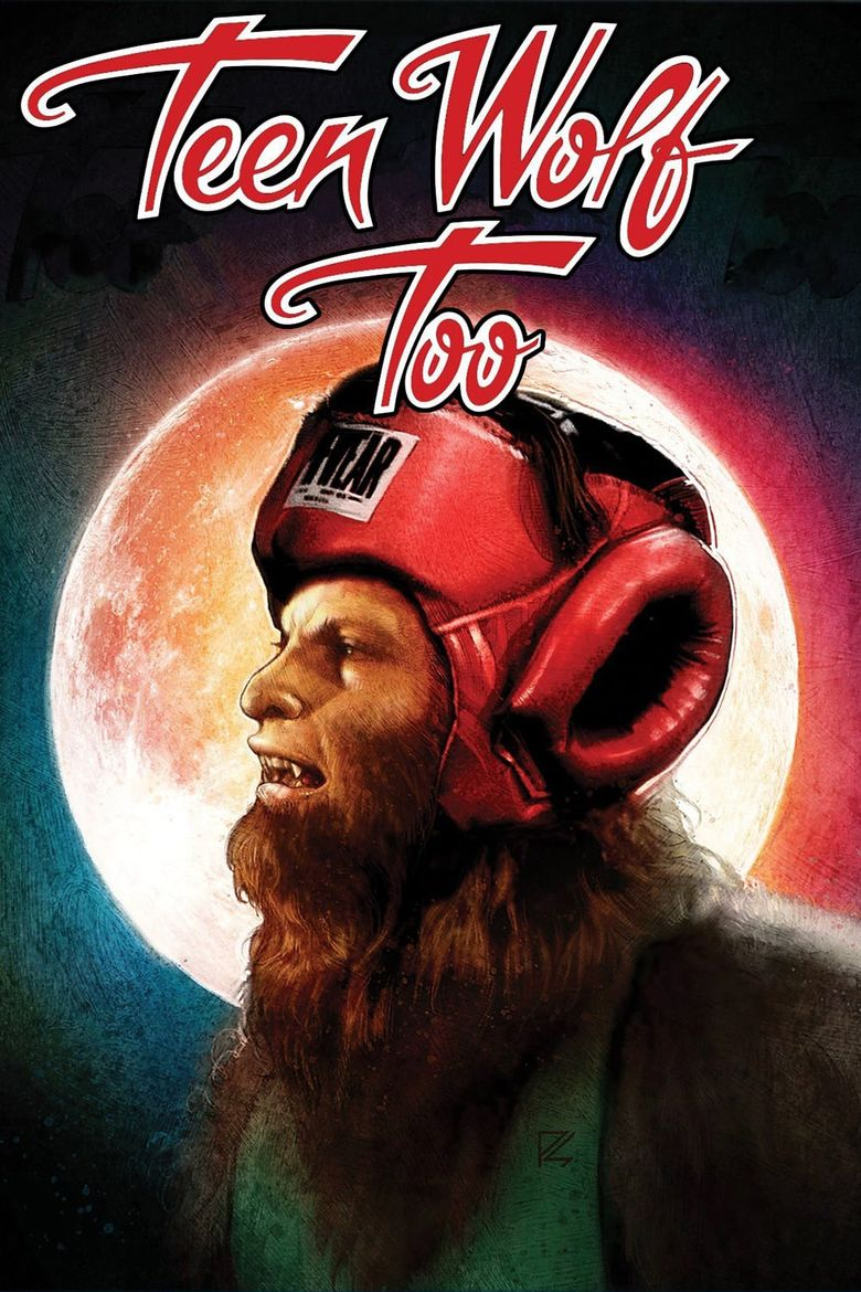 Teen Wolf Too Poster