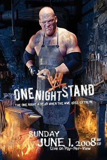 WWE One Night Stand 2008 Poster