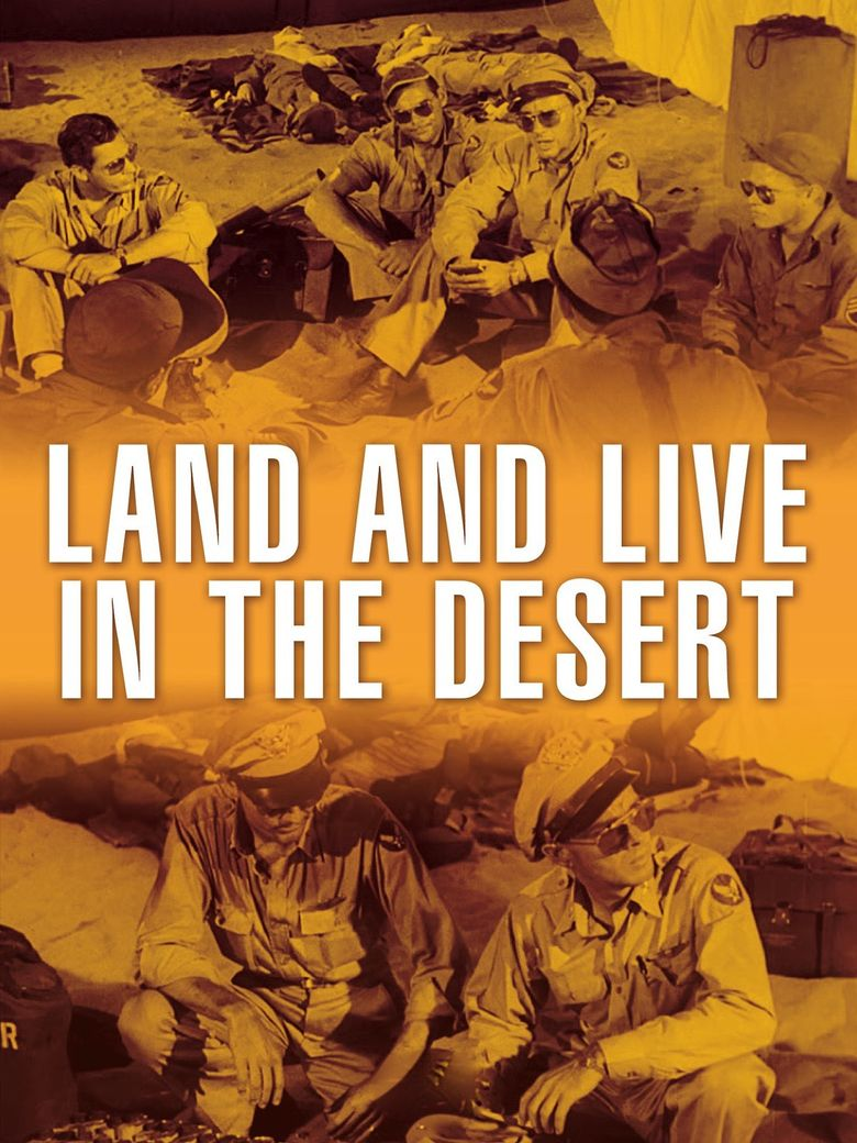 Land and Live in the Desert Poster