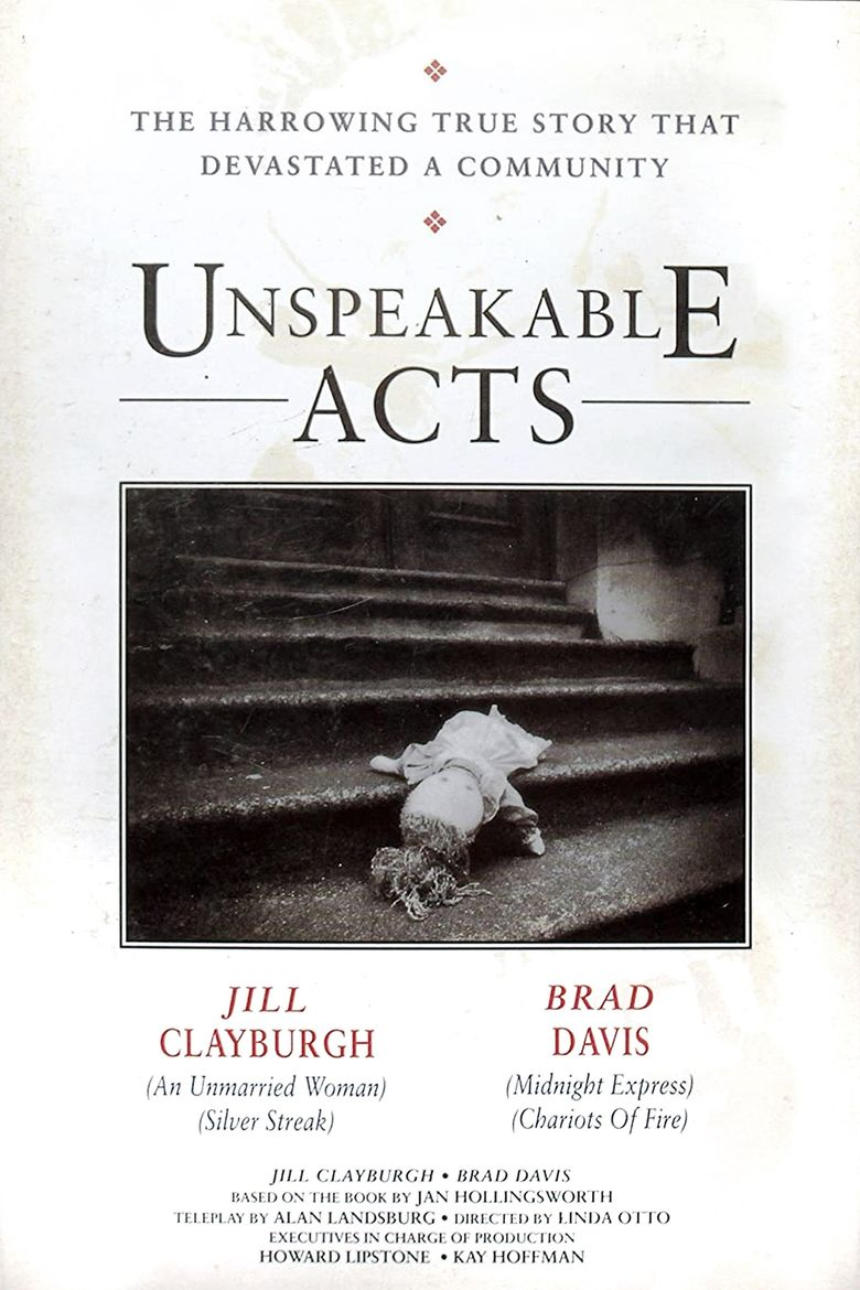 Unspeakable Acts Poster