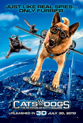 Watch Cats & Dogs 2 : The Revenge of Kitty Galore