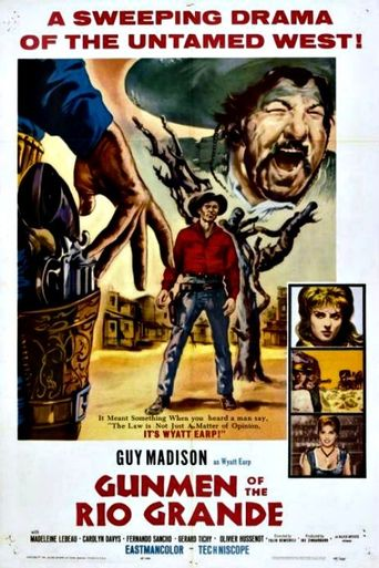 Gunmen Of The Rio Grande Poster
