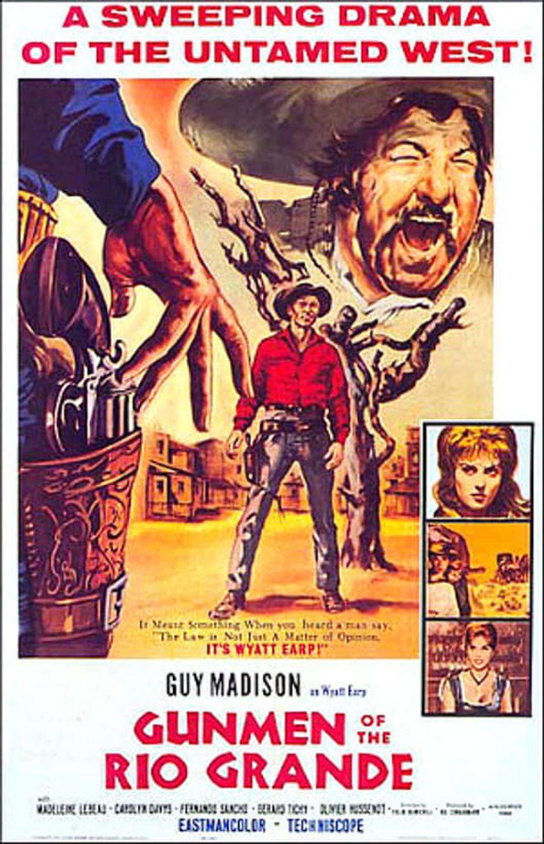 Gunmen Of The Rio Grande Poster