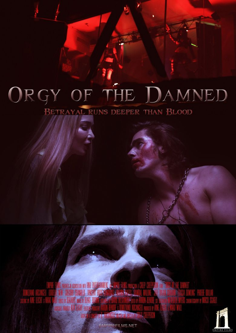 Orgy of the Damned Poster