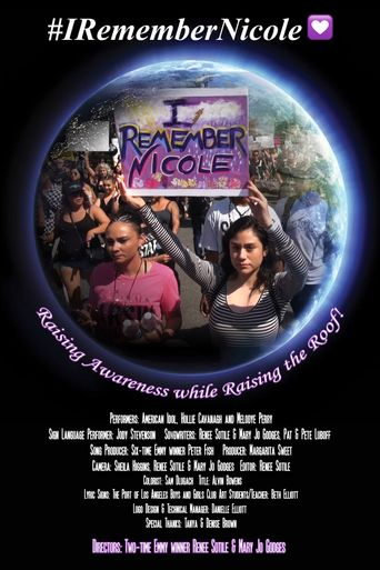 I Remember Nicole Poster