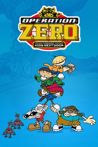 Codename: Kids Next Door - Operation Z.E.R.O. Poster