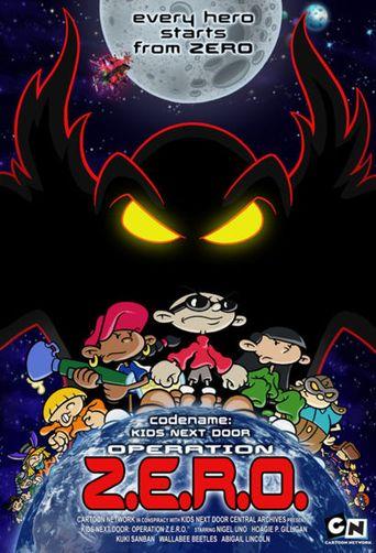 Codename: Kids Next Door - Operation Z.E.R.O. Poster