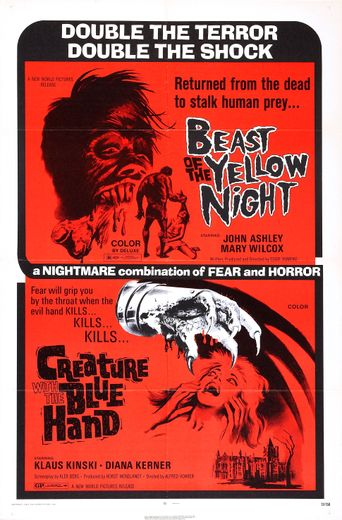 Beast of the Yellow Night Poster