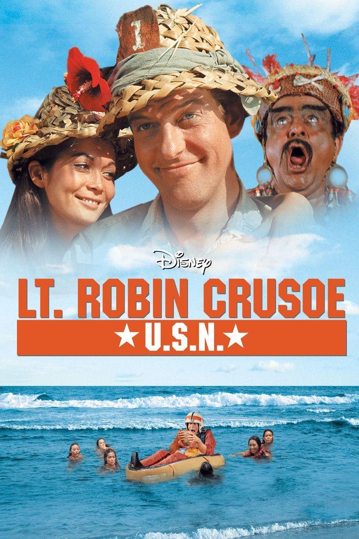 Lt. Robin Crusoe U.S.N. Poster