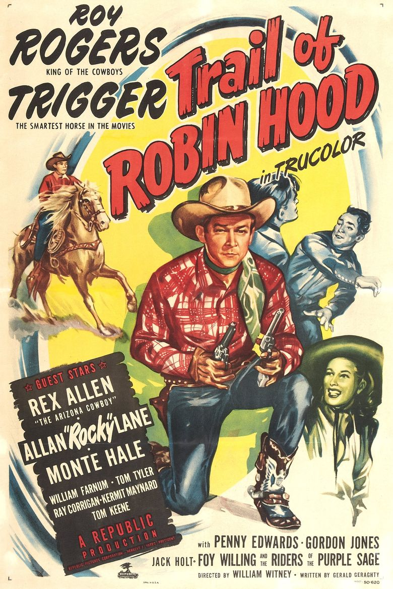 Trail of Robin Hood Poster
