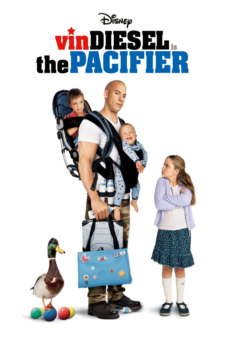 The Pacifier Poster