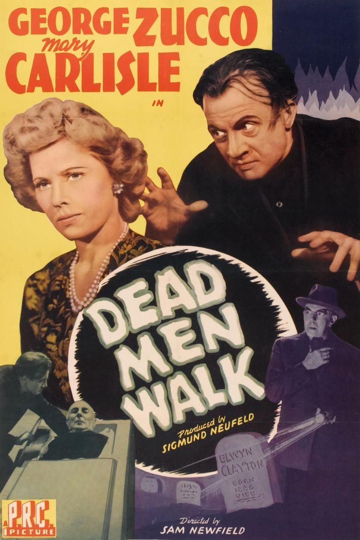 Dead Men Walk Poster