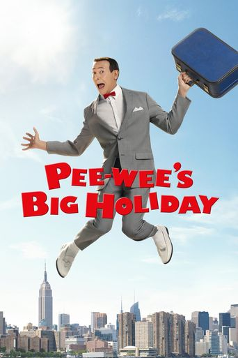 Pee-wee's Big Holiday Poster